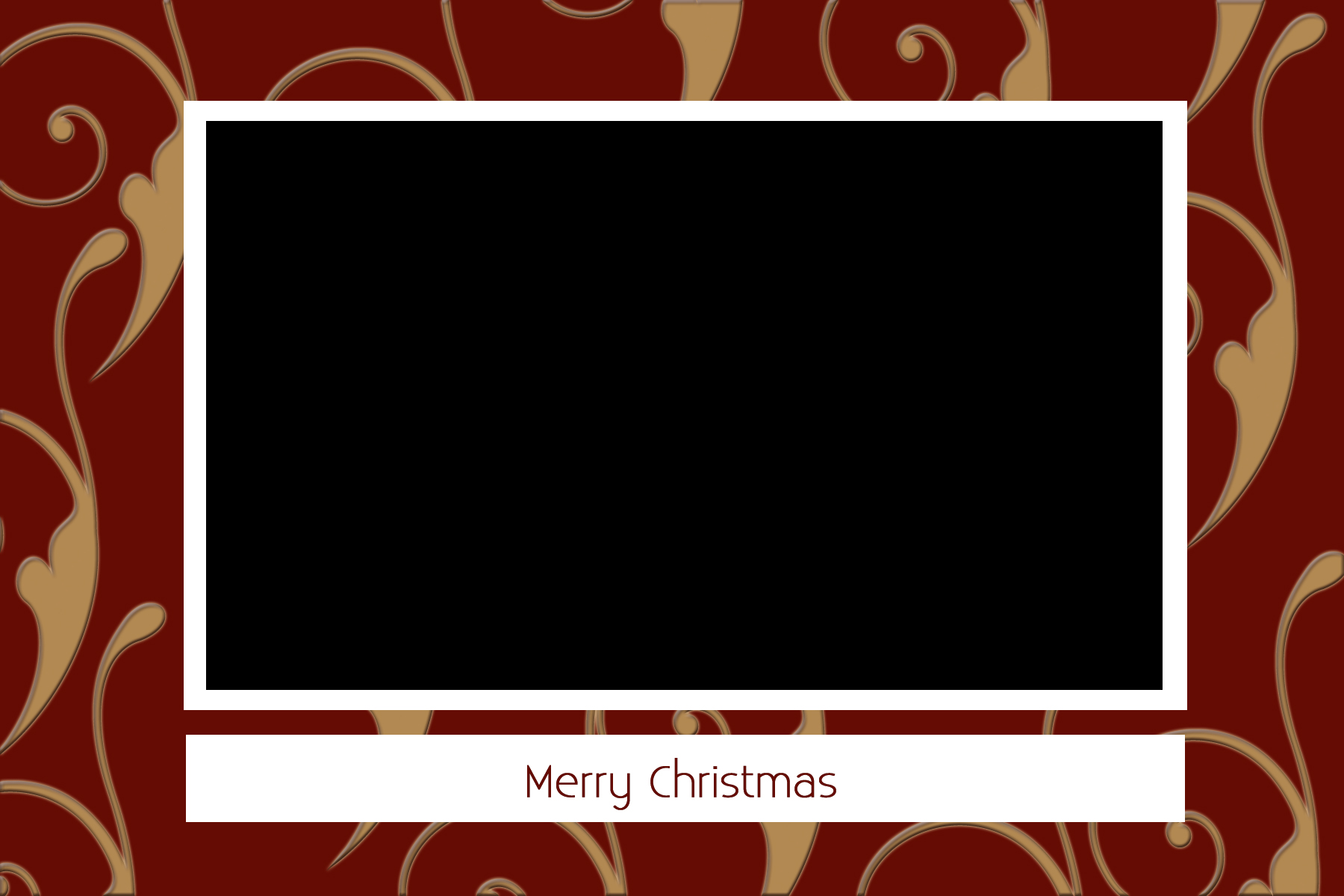 Christmas Card Templates For Photographers JPG Download   0001