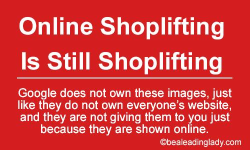 online shoplifting, stealing images