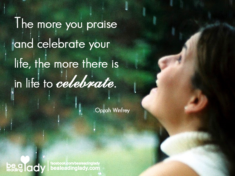 Celebrate Life - The Art of a Gratitude Journal