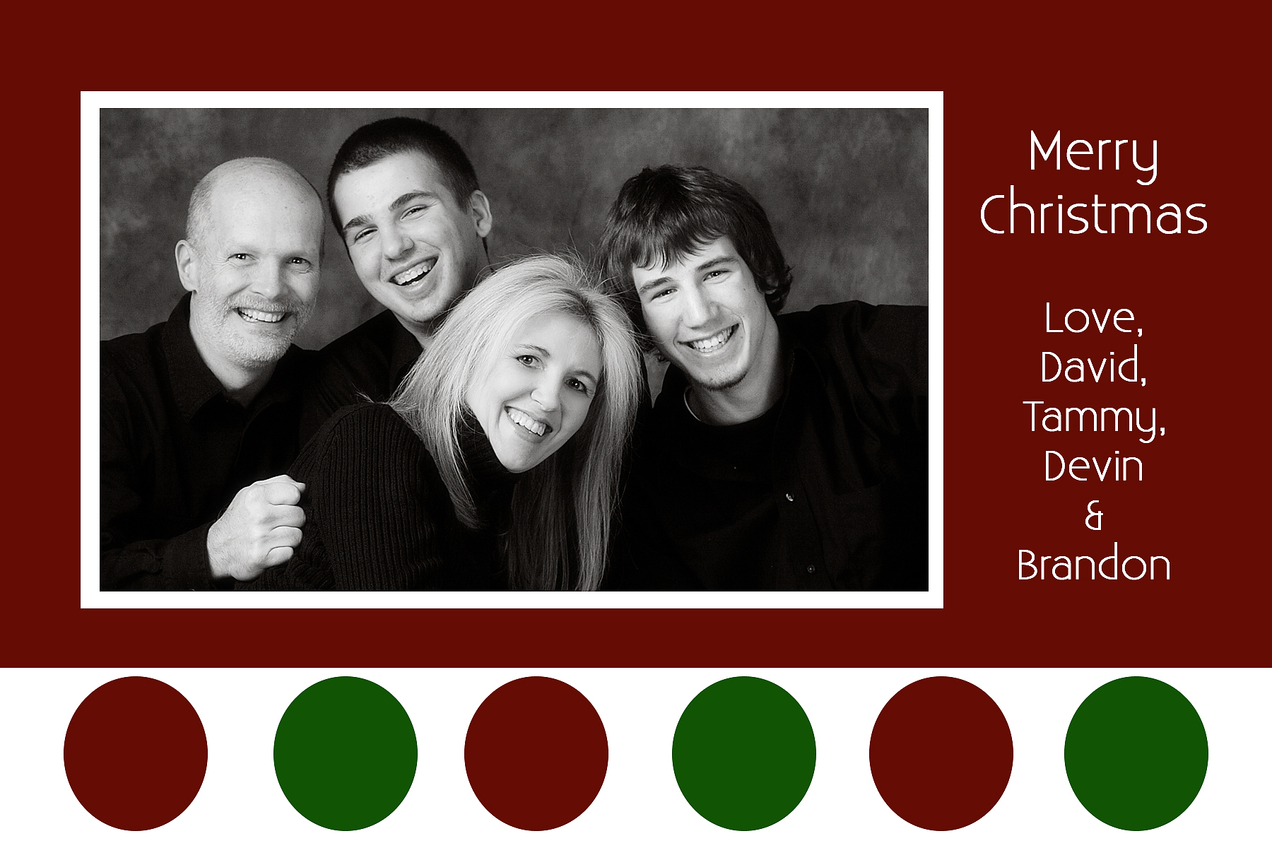 Christmas Card Templates - JPG and PSD - Be a Leading LadyBe a Pertaining To 4x6 Photo Card Template Free